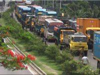 ঢাকা-চট্টগ্রাম মহাসড়কে ১০ কিমি যানজট