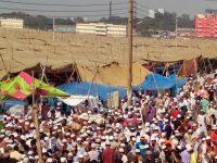বিশ্ব ইজতেমার দ্বিতীয় পর্বে মুসল্লির ঢল