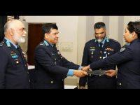 বাংলাদেশ বিমান বাহিনীর স্কোয়াড্রন কমান্ডার্স কোর্সের সনদ বিতরণ