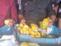 বাদামতলীতে ৪০ টন আম জব্দ, ৪১ লাখ টাকা জরিমানা